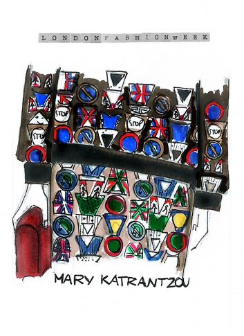 Mary Katranzou Art By Erika Serravalle