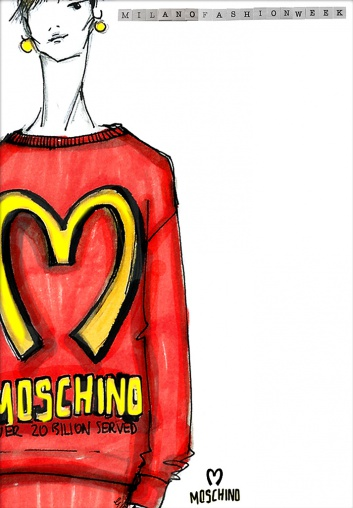 Moschino Art By Erika Serravalle